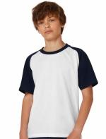 B&C Raglan bērnu t-krekls