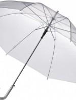 Caurspīdīgs lietussargs