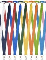 Impey kakla lentas dažādās krāsās