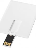 Kredītkartes izmēra plāna USB zibatmiņa