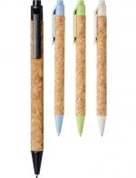 Midar korķa koka pildspalva