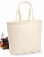 Premium 200 g/m² biezs kokvilnas maisiņš