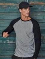 Tee Jays Baseball vīriešu krekls