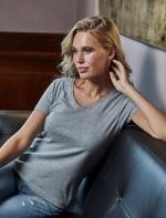 Tee Jays Luxury V-veida sieviešu krekls