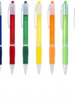 Trim plastmasas lodīšu pildspalva