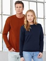 Unisex džemperis ar pagarinātām piedurknēm