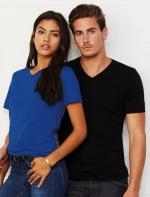 Unisex V-veida t-krekls