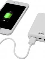 USB Dense 5000 mAh wireless uzlādes stacija