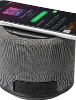 Wireless uzlādes Bluetooth® tumbiņa