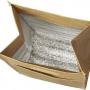 12-cans brūnā papīra aukstuma soma