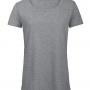 B&C triblend sieviešu t-krekls