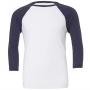 Bella Baseball krekls ar pusgarām piedurknēm