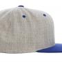 Calssics divu toņu Snapback cepure