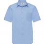 FOL Poplin vīriešu krekls ar īsām piedurknēm