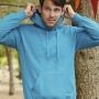FOL klasisks vīriešu džemperis ar kapuci