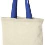 Kokvilnas maisiņi ar krāsainām lencēm