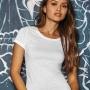Sublimācijas B&C single jersey t-krekls